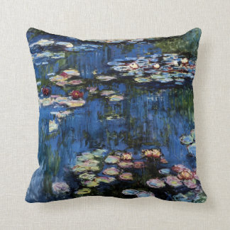 Waterlilies; 1914 cushion