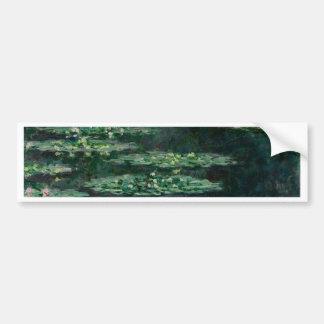 Waterlilies by Claude Monet Bumper Sticker