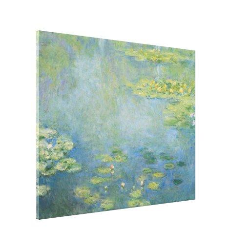 Waterlilies by Claude Monet Canvas Print