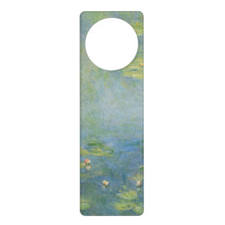 Waterlilies by Claude Monet Door Hangers
