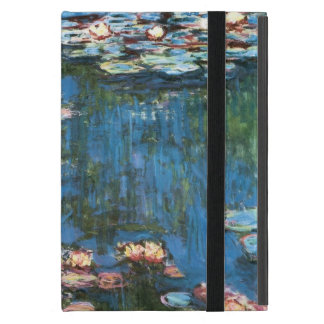 Waterlilies by Claude Monet Vintage Impressionism Cases For iPad Mini
