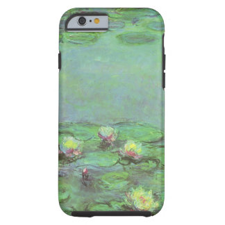 Waterlilies by Claude Monet, Vintage Impressionism Tough iPhone 6 Case
