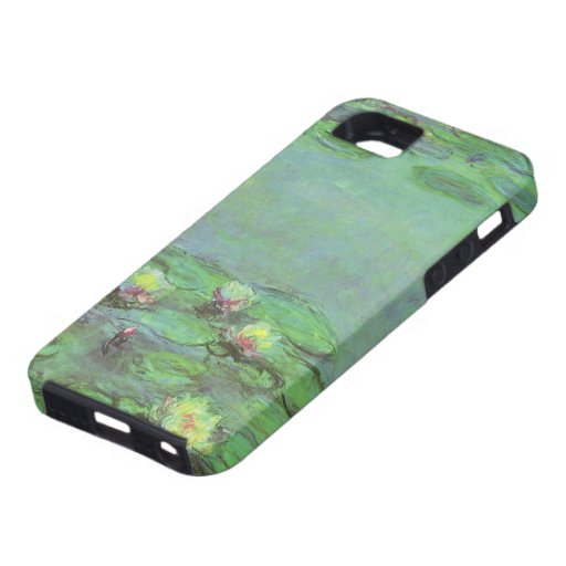 Waterlilies by Monet, Vintage Floral Impressionism iPhone 5 Cover