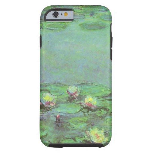 Waterlilies by Monet, Vintage Floral Impressionism iPhone 6 Case