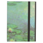 Waterlilies by Monet, Vintage Floral Impressionism iPad Covers