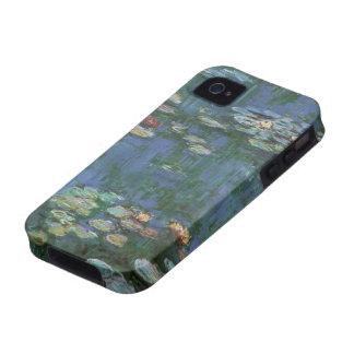 Waterlilies, Claude Monet, Vintage Floral Fine Art iPhone 4/4S Case