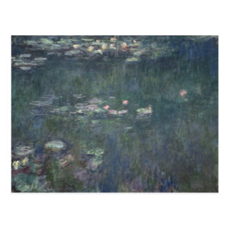 Waterlilies Green Reflections 1914-18 Post Cards