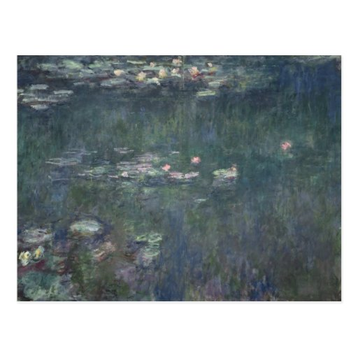 Waterlilies: Green Reflections, 1914-18 Post Cards