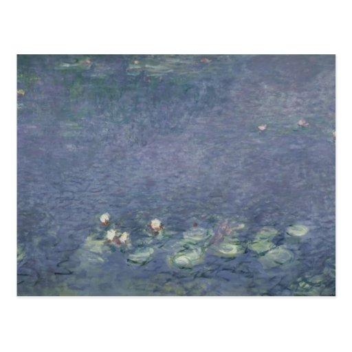 Waterlilies: Morning, 1914-18 Postcards
