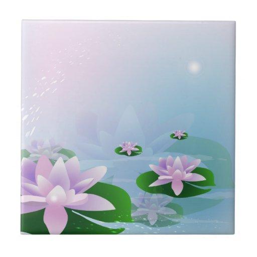 Waterlilies Tiles