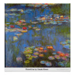 Waterlillies by Claude Monet Print