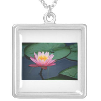 Waterlilly Square Pendant Necklace