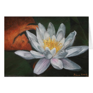 Waterlilly with Dead Pad Card