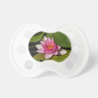 waterlily in the lake baby pacifier