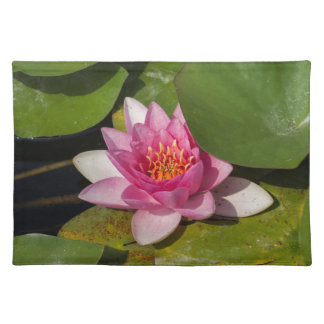 waterlily in the lake placemat