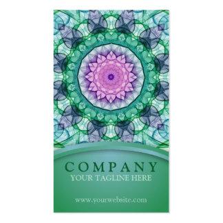 WaterLily Mandala Pack Of Standard Business Cards