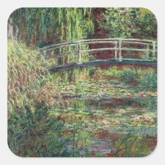 Waterlily Pond Pink Harmony 1900 Sticker
