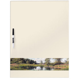 Waterlily Pond Wildflower Flowers Dry Erase Board