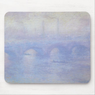 Waterloo Bridge by Claude Monet Impressionism Art Mouse Mat