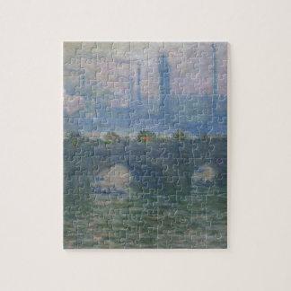 Waterloo Bridge by Claude Monet Puzzle