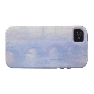 Waterloo Bridge, Effect of Mist by Claude Monet Case-Mate iPhone 4 Case