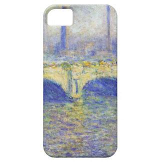 Waterloo Bridge, Effect of the Sun by Claude Monet iPhone 5 Cases
