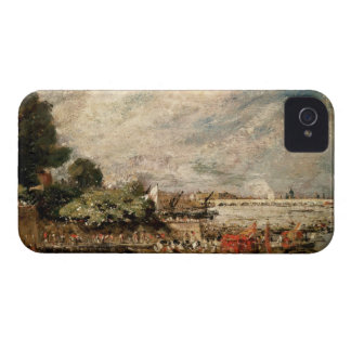 Waterloo Bridge from above Whitehall Stairs, c.181 iPhone 4 Case-Mate Case