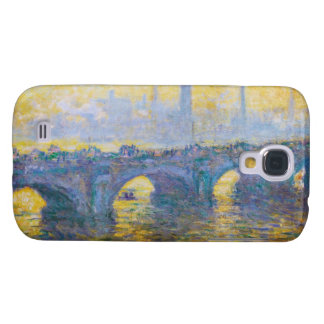Waterloo Bridge, Gray Weather, 1900 Claude Monet Samsung Galaxy S4 Cover