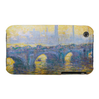 Waterloo Bridge, Gray Weather, 1900 Claude Monet Case-Mate iPhone 3 Cases