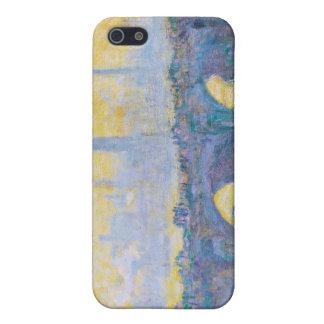 Waterloo Bridge, Gray Weather, 1900 Claude Monet iPhone 5 Case