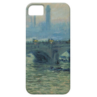 Waterloo Bridge, Grey Weather by Claude Monet Barely There iPhone 5 Case