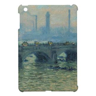 Waterloo Bridge, Grey Weather by Claude Monet Cover For The iPad Mini