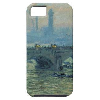 Waterloo Bridge, Grey Weather by Claude Monet iPhone 5 Case