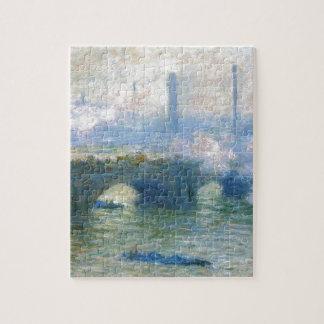 Waterloo Bridge, London by Claude Monet Puzzles