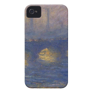 Waterloo Bridge, Overcast Weather by Claude Monet iPhone 4 Case-Mate Cases