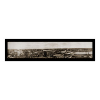 Waterloo Iowa Photo 1907 Poster