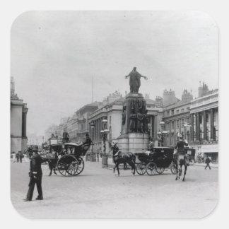 Waterloo Place, London Square Sticker