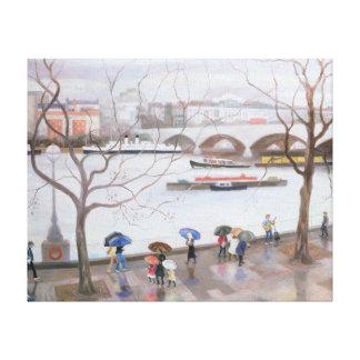 Waterloo Promenade 2006 Canvas Print