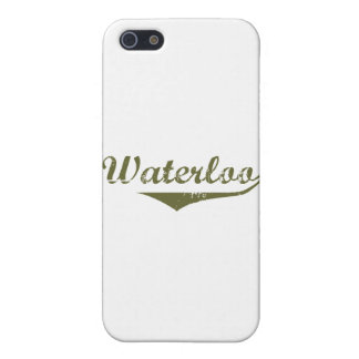 Waterloo Revolution t shirts Case For iPhone 5