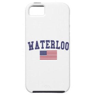 Waterloo US Flag iPhone 5 Covers