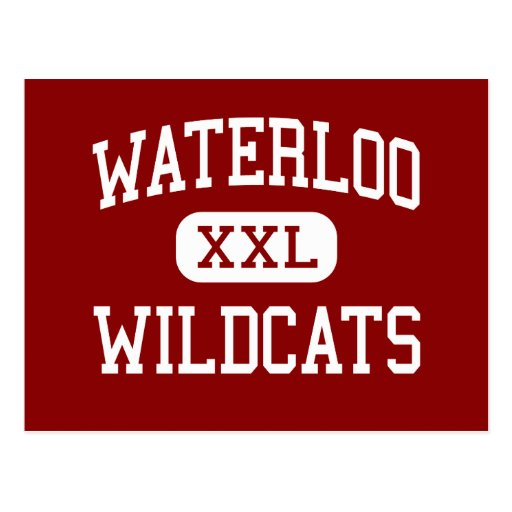 Waterloo - Wildcats - Middle - Stockton California Post Cards