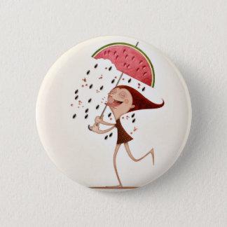 Watermelon 6 Cm Round Badge