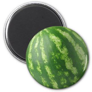Watermelon 6 Cm Round Magnet