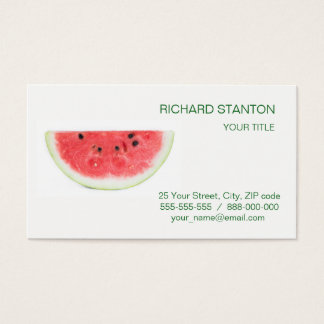 Watermelon Business Card