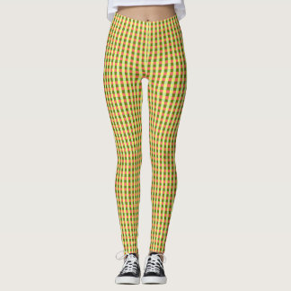 Watermelon Check leggings