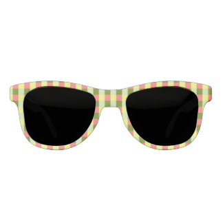 Watermelon Check sunglasses