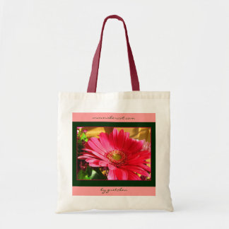 Watermelon Daisy Delight Tote Bag