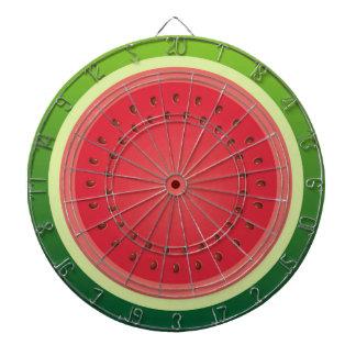 Watermelon Dartboard With Darts