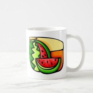 Watermelon Day August 3 Basic White Mug