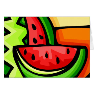 Watermelon Day August 3 Card